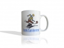 taza recta mug copia